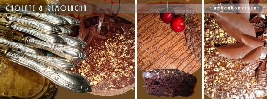 Pastel de Chocolate & Remolacha